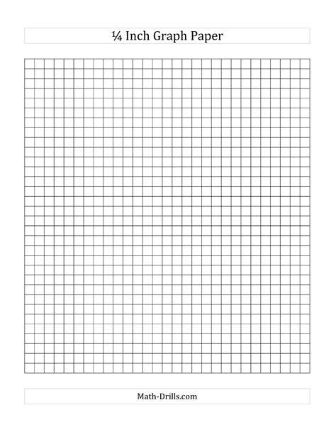.printable dot paper 1 4 inch grid paper printable 4 x 4 graph paper