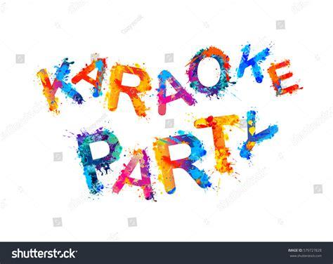 imagenes chistosas de karaoke karaoke party เวกเตอร สต อก 579727828 shutterstock