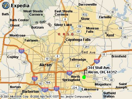 Akron Ohio Map by Map Of Akron Area Pictures To Pin On Pinterest Pinsdaddy