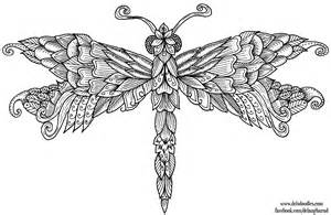 dragonfly colouring page by welshpixie on deviantart