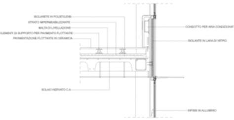 pavimento galleggiante dwg solaio cemento armato nervature dettagli dwg dwglab