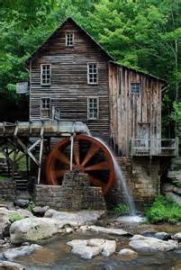 glade creek grist mill west virginia charming