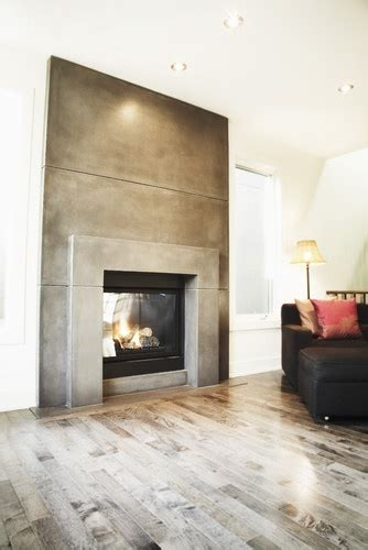 ideas  concrete fireplace  pinterest contemporary fireplaces modern