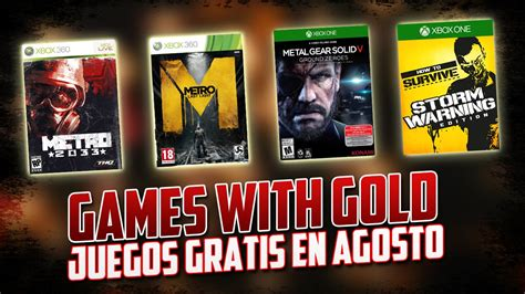 http xbox live gold gratis juego zk games with gold juegos gratis agosto xbox 360 xbox