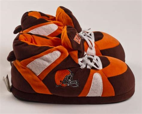 cleveland browns slippers cleveland browns slippers football slippers