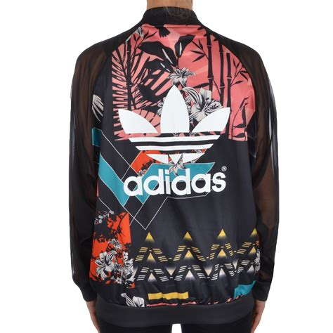 flower pattern adidas jacket adidas originals womens soccer mesh floral tracksuit track