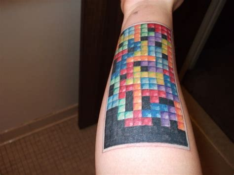 tetris tattoo tetris picture at checkoutmyink