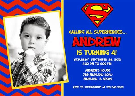 superman powers card template 43 best images about mykee s bday on superman