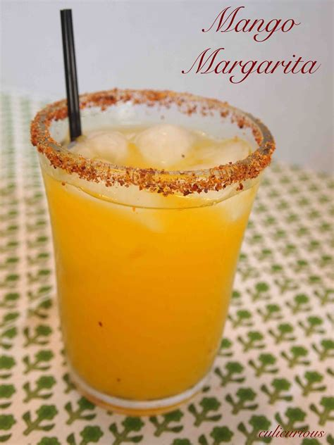 mango margarita rocks mango margarita recipe on the rocks culicurious