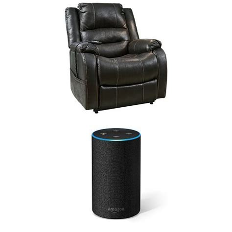 recliner lift up chair cheapest black furniture signature design yandel power lift recliner reclining black free