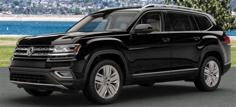 volkswagen atlas black interior 2018 volkswagen atlas color options