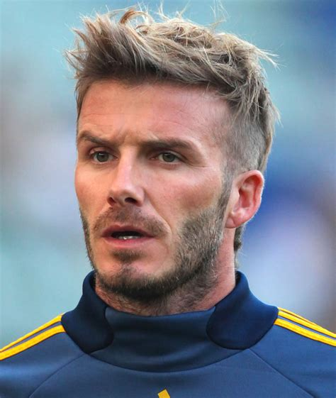 David Beckham Hairstyles by David Beckham S Best Hairstyles And How To Get The Look