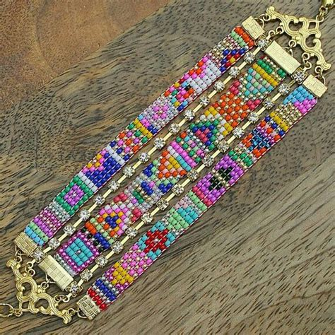 how to end a beaded loom bracelet 32 best loom images on bead bead