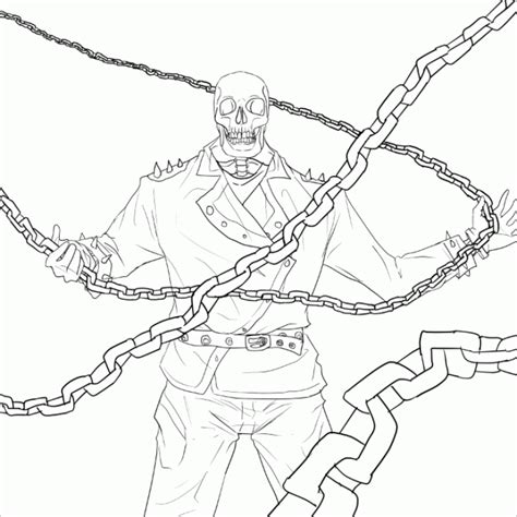 coloring pages ghost rider ghost rider coloring page coloring home