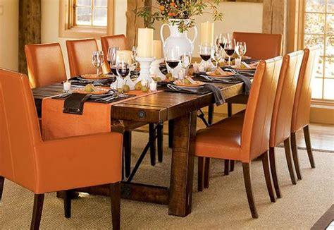 decoracion de comedores en color naranja  curso de