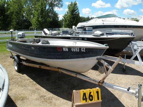 1974 crestliner 14 ft aluminum boat w trailer unable to - Crestliner Boat Vin