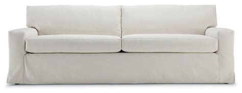 mitchell gold dominique sofa dominique 89 inch slipcovered sofa modern sofas by