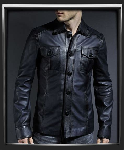 Jaket Pria J535211 Jacket True Black S 17 best images about soul revolver vintage leather jackets