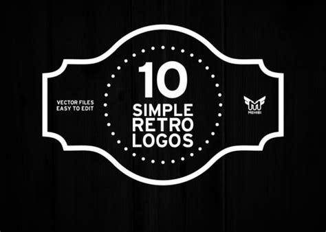 retro logo templates 25 beautiful vintage logo templates creative market