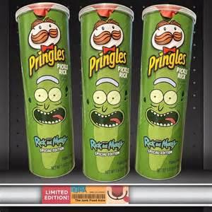 rick  morty pickle rick pringles  junk food aisle