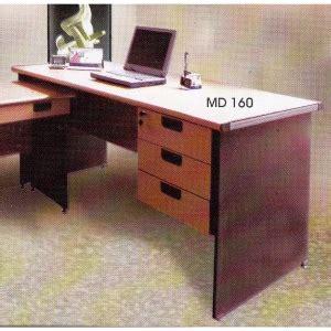 Meja Kantor Daiko meja kantor daiko md 160 daftar harga furniture dan