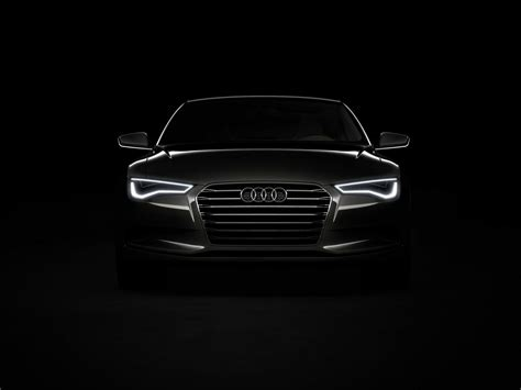 Audi R8 Front Black wallpaper 1920x1440 455696 WallpaperUP