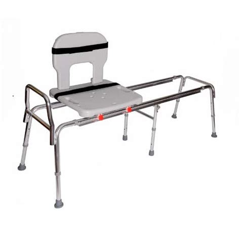 sliding bathtub transfer bench long toilet to tub sliding transfer bench 67992 buy