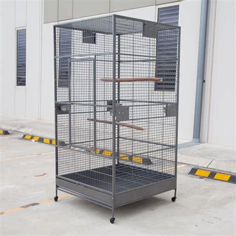 xxl large bird flight cage parrot aviary 205cm x 102cm x