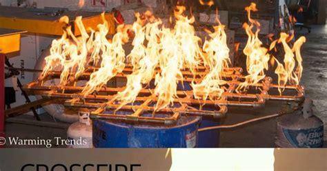 diy brass pit burner diy build your own pit our crossfire brass burner