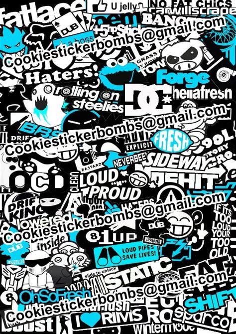 Sticker Bombs