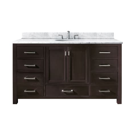 60 bathroom vanity single sink 60 inch single sink bathroom vanity with choice of top