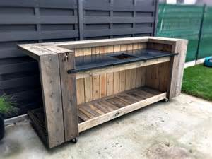 Creative diy outdoor pallet bar ideas pallet design ideas