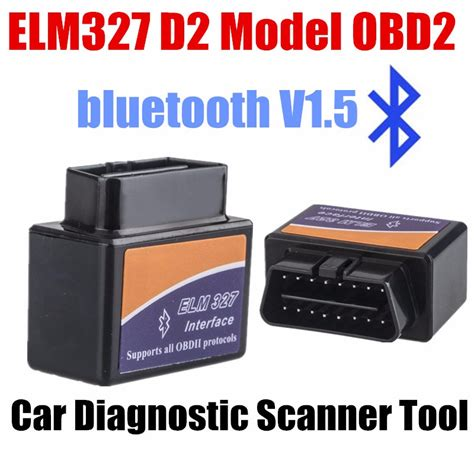 Car Diagnostic Elm327 Bluetooth Obd2 Automotive Test Tool elm327 car code reader tester decoder free shipping mini bluetooth obd2 v1 5 car