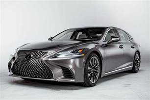 by design 2018 lexus ls automobile magazine