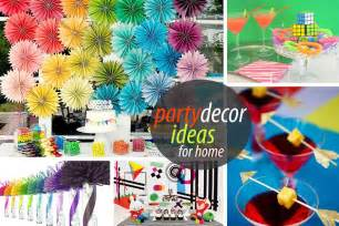 Home Interior Parties Products by Birthday Party Decoration Ideas