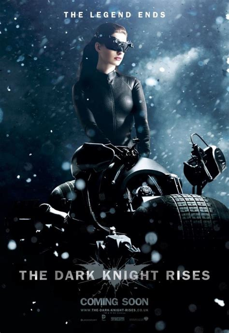 dark posters the dark knight rises images bane batman catwoman collider
