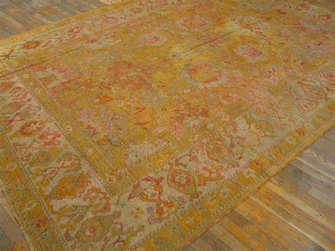 Decorative Rugs by Antique Oushak Rug 21127 Turkish Decorative 8 4 X