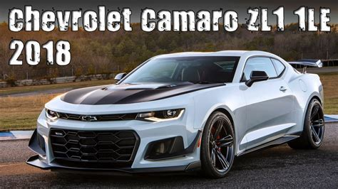 chevrolet camaro zl1 price new 2018 chevrolet camaro zl1 1le prices specs and