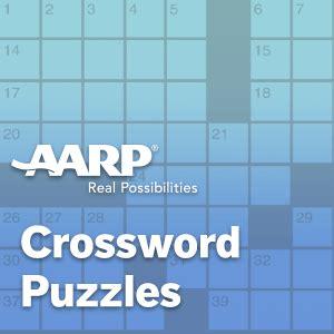 easy crossword puzzles online aarp aarp online games