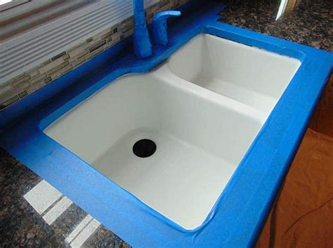 Cast Iron Sink Refinishing by Sink Refinishing In St Charles Il Porcelain Sink Repairs