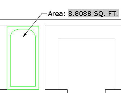 display printable area autocad tutorial how to display the area of an enclosed figure