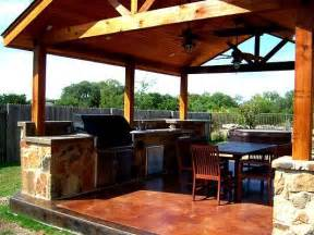 Covered Patio With Outdoor Kitchen by Mooresville Covered Outdoor Kitchen Totally Equipped