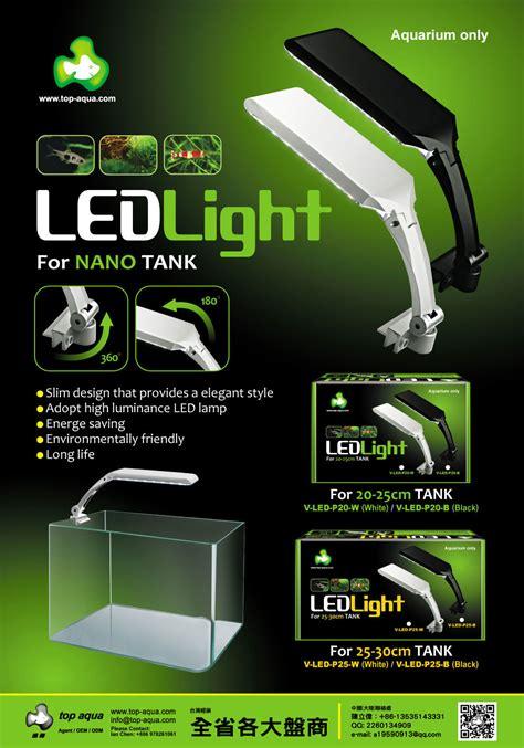 Top Filter Set 25cm Top Aqua Led Light 20 25cm