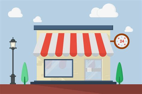 store layout vector flat design vector store illustrations on creative market