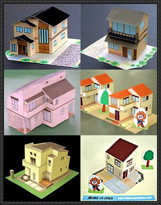 Japanese Papercraft - papercraftsquare new paper craft six japanese house