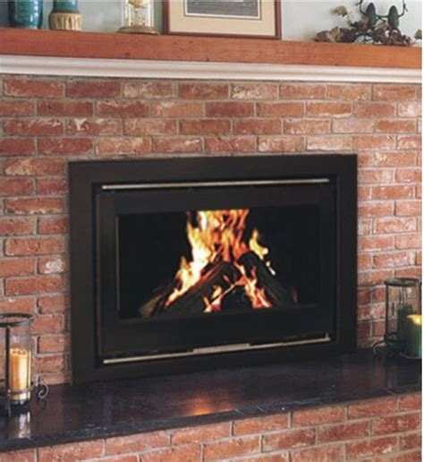 Fireplace Insert For Wood Burning Fireplace by Yn 090 Modern Metal Wood Burning Fireplace Insert In