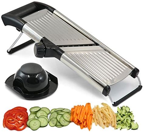 Mandoline Recommended By America S Test Kitchen by Adjustable Mandoline Slicer By Chef S Inspirations Best