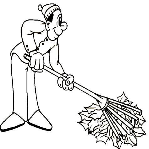 coloring pages of raking leaves fall coloring book pages autumn coloring pages raking