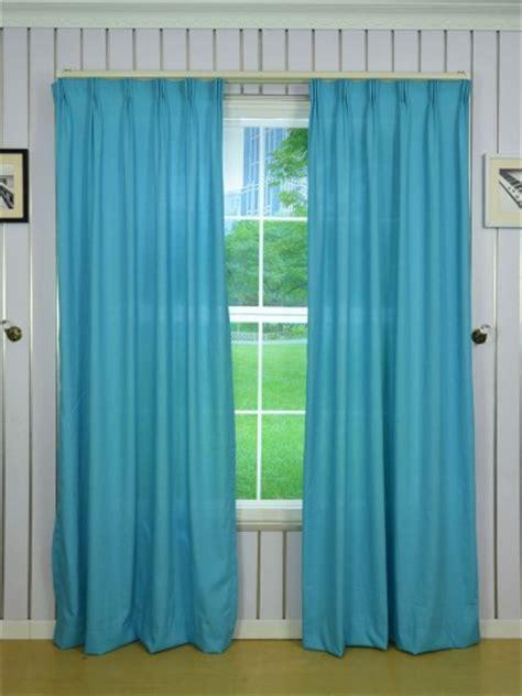 blue green sheer curtains qyk246sda eos linen green blue solid versatile pleat sheer