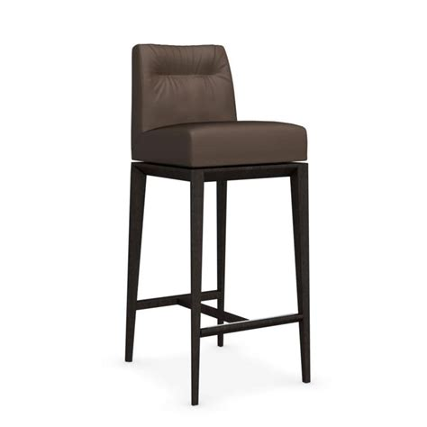 bar stools somerville ma tosca cs 1830 lh bar stool with leather seat by calligaris